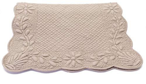 SP S.A.S. Runner Boutis Shabby Chic. Estilo provenzal francés. Se puede utilizar también como alfombra de 50 x 150 cm.