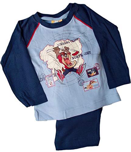 Looney Tunes Schlafanzug mit Taz, Blau