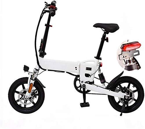 Bicicleta eléctrica de nieve, Bicicletas rápidas y Eléctrica en adultos plegables bicicletas de ciudad eléctricos con frenos de doble disco Electric Power Assist bicicletas Velocidad máxima 25 KM / H,