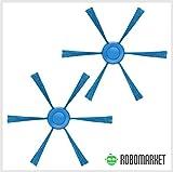 ROBOMARKET - Kit de recambios para Philips SMARTPRO Active East Compact FC8792 FC8794 FC8796 FC8007 - Juego de Accesorios de Repuesto con 2 cepillos de 6 Brazos