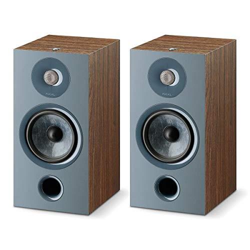 Focal Chora 806 Bookshelf Speaker - Pair (Dark Wood)