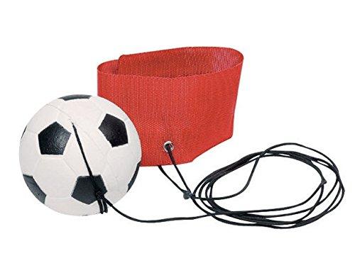 Toys Pure Sport-Tec - Pulsera de fútbol, 6,3 cm, color rojo