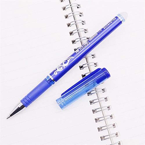 KANGKANGBOOS Kugelschreiber 144 stücke 0,5mm Löschbaren kugelschreiber Niedrigen Preis Großhandel Drei Farbe Stift Tinte Optional Feine Verpackung Geschenk Büro Stift, blau