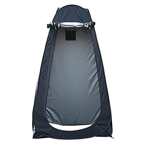 ZIFON Tienda de campaña de ducha, tienda de baño de privacidad, refugio de lluvia, cambiador de habitación, para acampar y playa, ligera, resistente, fácil de configurar, plegable