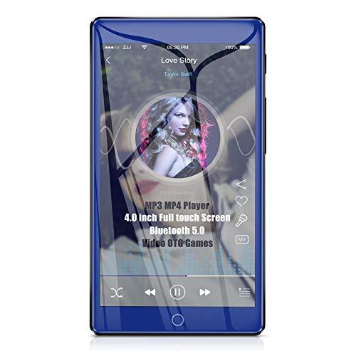 Timoom M7 MP3 Player Bluetooth 5.0 Full Touch 4.0' Screen 16GB MP4 HIFI...