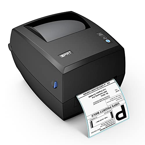 Thermal Label Printer-iDPRT Shipping Label Maker,Direct Thermal Label Printer,USB Label Printer,150mm/s-4X6 High-Speed Label Maker for Windows&MAC System,Compatible with UPS, Amazon, Ebay,ect.