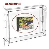 Ruitroliker 10 Pcs Funda CIB Protector Box para Caja de Cartucho de Juegos PS1 2CD Saturn CD Box Dreamcast CD Box