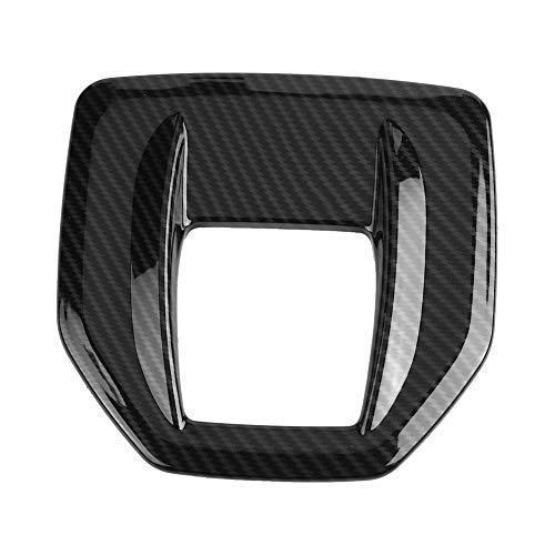 Coperchio Cambio Scatola Cambio, Rivestimento in ABS in Fibra di Carbonio Coperchio della Copertura del Pannello Scatola Cambio per 2017-2018