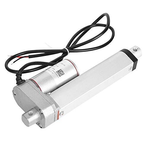 Actuador lineal, JS-TGZ-U1 Motor DC Actuador lineal eléctrico 30 mm/s 300N 12VDC IP45 Actuador multifunción para cama eléctrica, sofá eléctrico, sistema de elevación, etc.(100mm)
