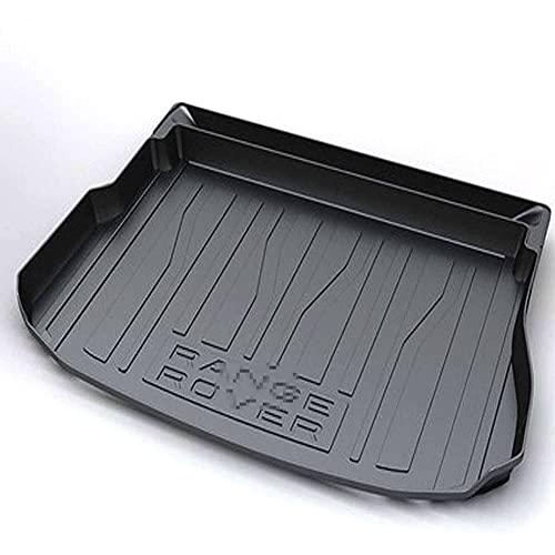 Goma Alfombrillas Para Maletero Para Coche Para Range Rover Evoque 2012-2021, Alfombrilla Acolchada Impermeable Cubierta de Maletero Antideslizante Protectora Accesorios