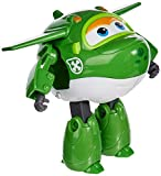 "Super Wings - Transforming Mira Toy Figure | Plane | Bot | 5"" Scale, Green"