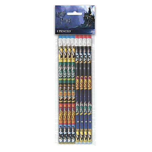 Unique Party Supplies 59069 Partygeschenke - Harry-Potter-Bleistifte - 8er-Pack