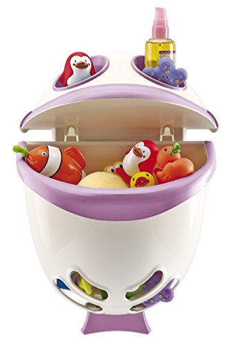 Review Of Thermo Baby The Oil Pipe O Range–Jouets Bubble Fish–Rose orchidée–Blanc...