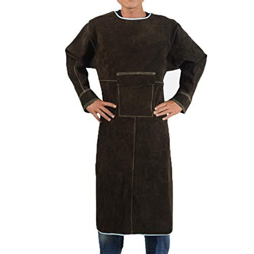 XXLHH lasschort smeedschort lasbeschermende kleding werkkleding voor lassers ambachtslieden