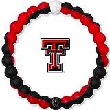 Lokai Texas Tech University Game Day Silicone Collegiate Bracelet, Large