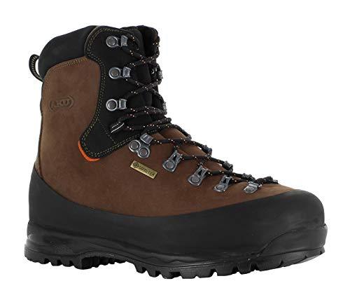 AKU Utah Work GTX S3 Sicherheitsschuhe, Arbeitsschuhe mit Goretex, Stahlkappe und Vibramsohle EU 44,5