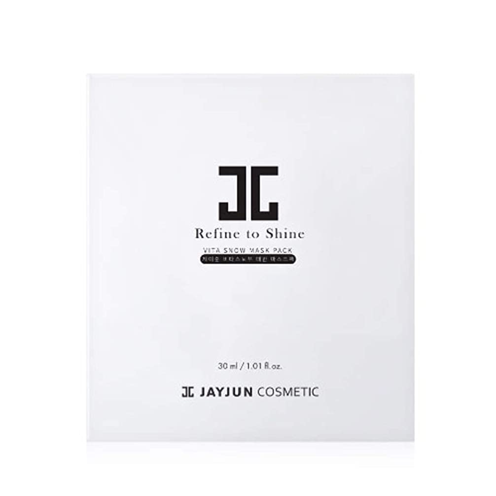 知っているに立ち寄る反毒類似性Jayjun(ジェイジュン) ビタスノー胎盤マスクパック30ml 5枚セット