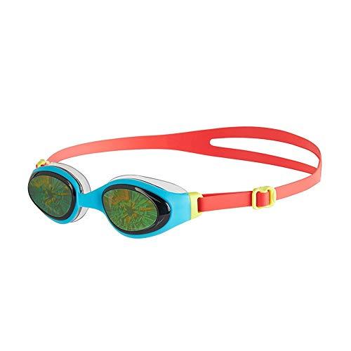 RWHALO Wasserdicht, beschlagfrei, Bequeme Passform, wasserabweisend, lustig, Kinder, magisches Pflaster, Schutzbrille, Männer und Frauen (Farbe : Red Blue)
