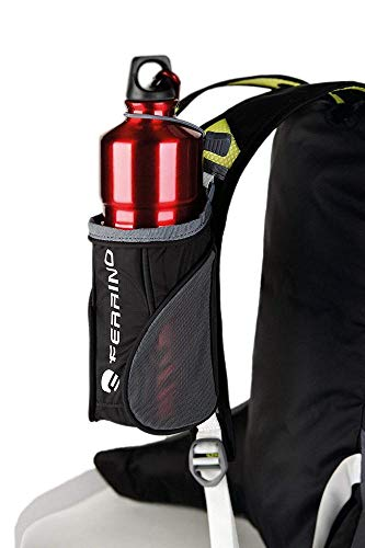 Ferrino X-Track Bottle Holder Porte-Gourde pour Sac à Dos, Noir