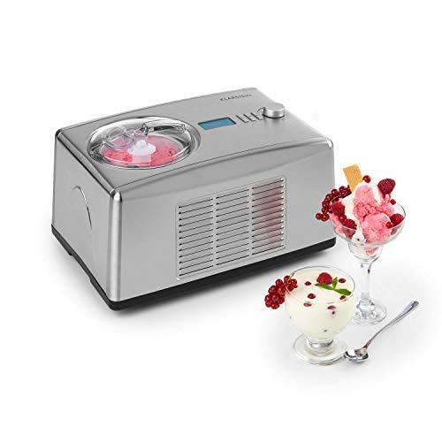 VARIEDAD: ¡Ya apetece un helado! ¡Manjares helados en tamaño familiar! Con la máquina de helados Yo & Yummy de Klarstein se puede hacer helados y yogures como por ejemplo helados de frutas, sorbetes o yogur helado en menos que canta un gallo. GRAN CA...
