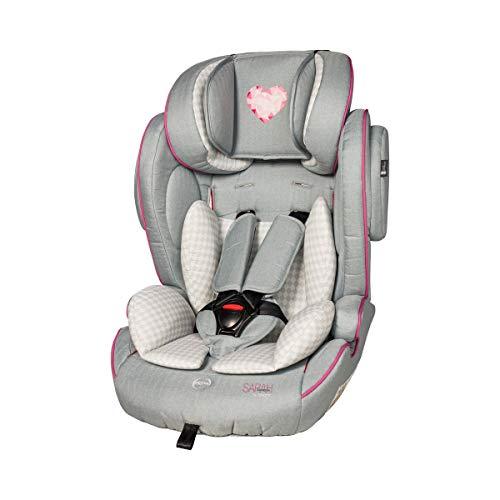 Osann 102-138-900 Flux Kindersitz by Sarah Harrison - Kinder-Autositz mit Seitenaufprall-Schutz, höhenverstellbarem 5-Punkt-Gurt & verstellbarer Kopfstütze