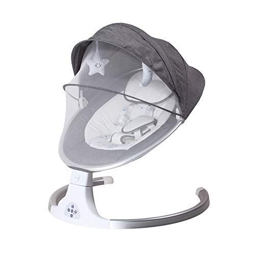 GTBF Rocker eléctrico del bebé con la Silla de Mecedora Inteligente Bluetooth...