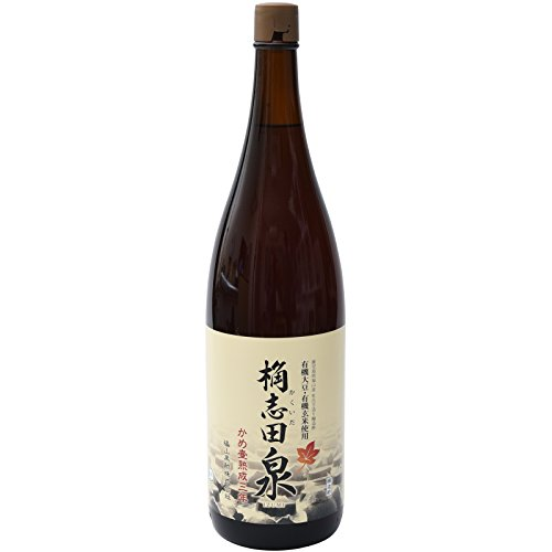 三年熟成 桷志田 有機 泉 (一升瓶 1800ml)