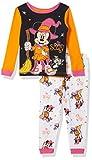 Minnie Mouse Disney Girls 2-Piece Pajama Set, SCARY CUTE MINNIE, 2T