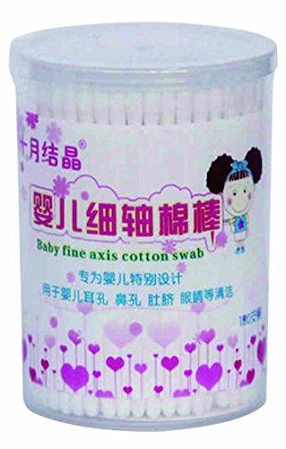 Coton écouvillon coton écouvillon oreille écouvillon bébé / 180pcs / Paper Shaft