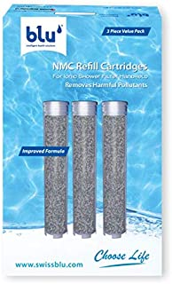 NMC Refill Cartridges (3-Piece Value Pack) - For Ionic Shower Filter Handheld