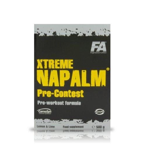 FA Xtreme Napalm Precontest 500g lemon lime (lemon lime)