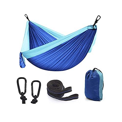 Outfitters Hamaca para Acampar con Correas para árboles - Mochilero para Interior y Exterior, Supervivencia y Viajes, Mochilero portátil