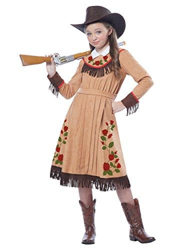 Girl's Annie Oakley Costume Medium