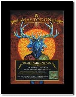 Music Ad World Mastodon - Blood Mountain Mini Poster - 28.5x21cm