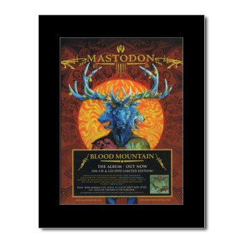 Music Ad World Mini-Poster Mastodon - Blutberg, 28,5 x 21 cm