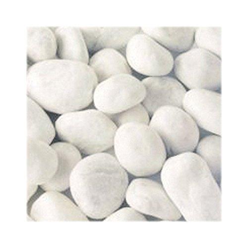 Jawoll 25 kg Weißer Marmorkies 15-25 mm Körnung Zierkies Gartenkies Teichkies Zen Garten Deko Wegkies Wegsteine Gartenweg