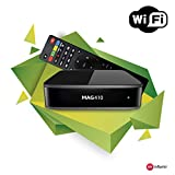 Genuine INFOMIR MAG 410 Android IPTV Set-TOP Box with WiFi Module Supports 4K and HEVC