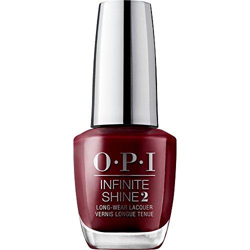 OPI Infinite Shine - Esmalte de Uñas Semipermanente a Nivel de una Manicura Profesional, 'Got The Blues For Red' Color Rojo - 15 ml