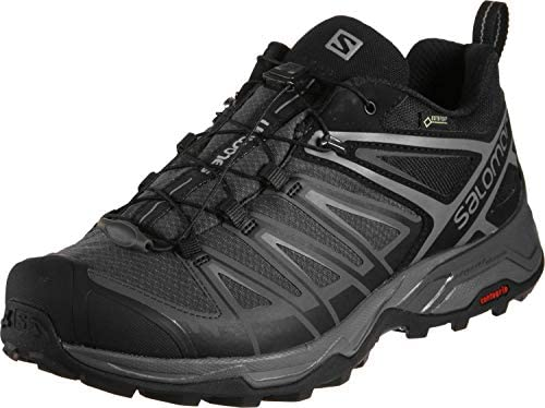 Salomon Men s X Ultra 3 GTX Hiking Shoes Black Magnet Quiet Shade 11 5 Wide product image