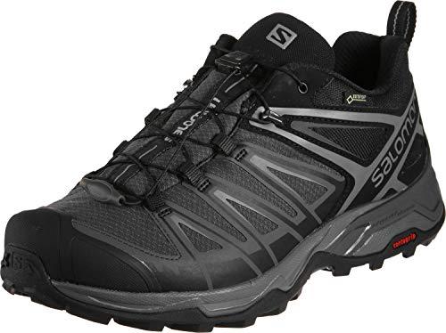 Salomon Men's X Ultra 3 GTX Hiking Shoes, Black/Magnet/Quiet Shade, 8.5 Wide