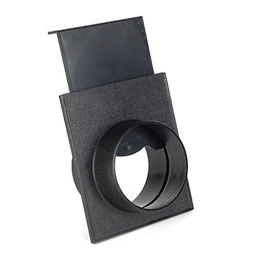 Absperrschieber für Absauganlagen Kunststoff 100 mm
