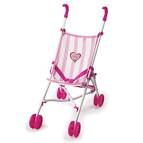 Grandi Giochi GG71250 Amore Mio Buggy paraplu, wit/roze