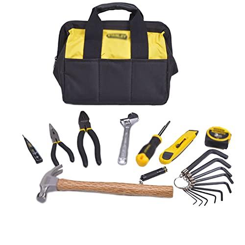 Bolsa de cinturón de herramientas Conjunto de 25 piezas Conjunto de herramientas generales Electricista de la casa Kit de reparación de la casa Kit de herramientas de mano Básico Kit de herramientas f