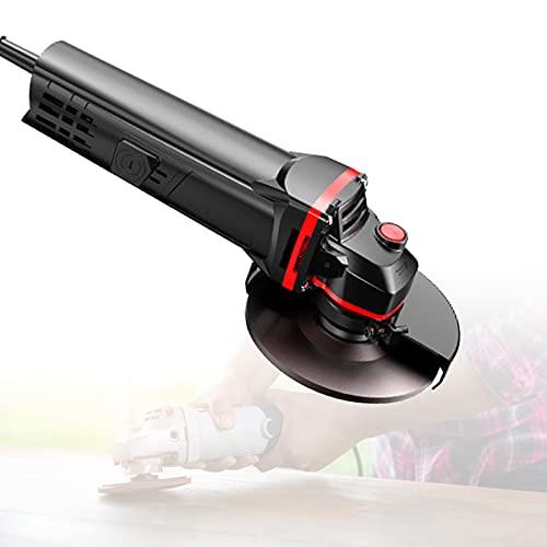 Amoladora Angular Craftsman, Mini Amoladora Angular con Diseño de Cintura Pequeña, Diseño Eliminación Polvo 360° del Cuerpo, Escudo Metal Engrosado para Cortar y Esmerilar