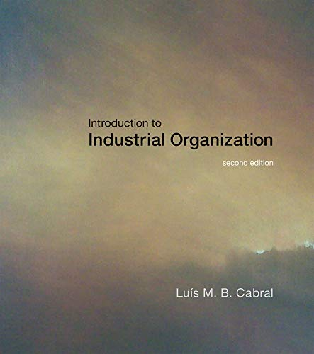 Introduction to Industrial Organization (The MIT Press)