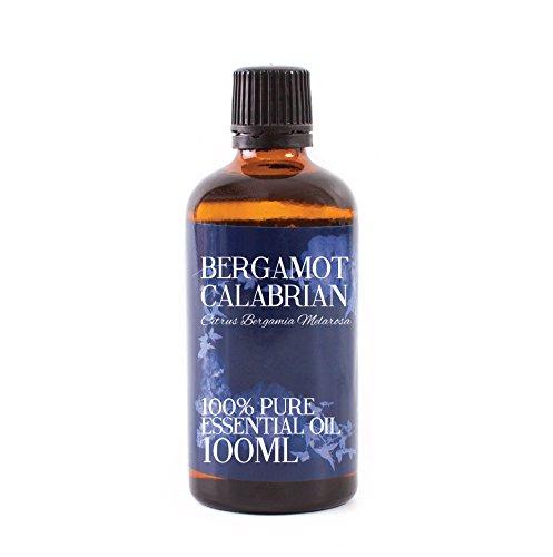 Aceite esencial Bergamota de Calabria, 100 ml y 100% puro,