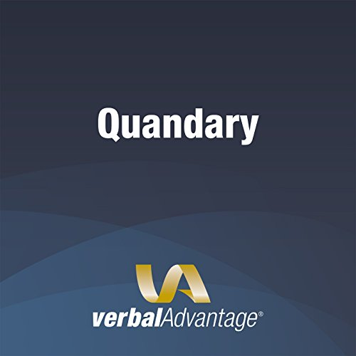 Word of the Day: Quandary cover art