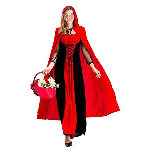 Happy Lemon Cosplay nieuwe cosplay serie dames roodkapje-kostuum-slot-koningin-pak Halloween-vampir uniform volwassenen sprookjeskostuum halloweenkostuum