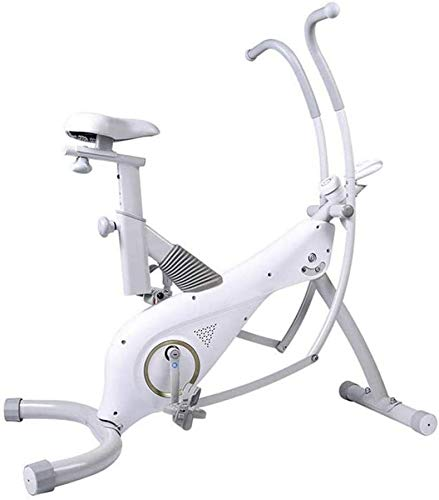 [Promozione 2021]Cyclette da interno - Bicicletta da fitness magnetica silenziosa regolabile - Può essere utilizzata per esercizi per tutto il corpo - Cyclette da allenamento per palestra da casa