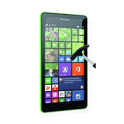 aiino Displayfolie Bildschirmschutz für Smartphone Microsoft Lumia 535, Handyzubehör - Anti-Shock